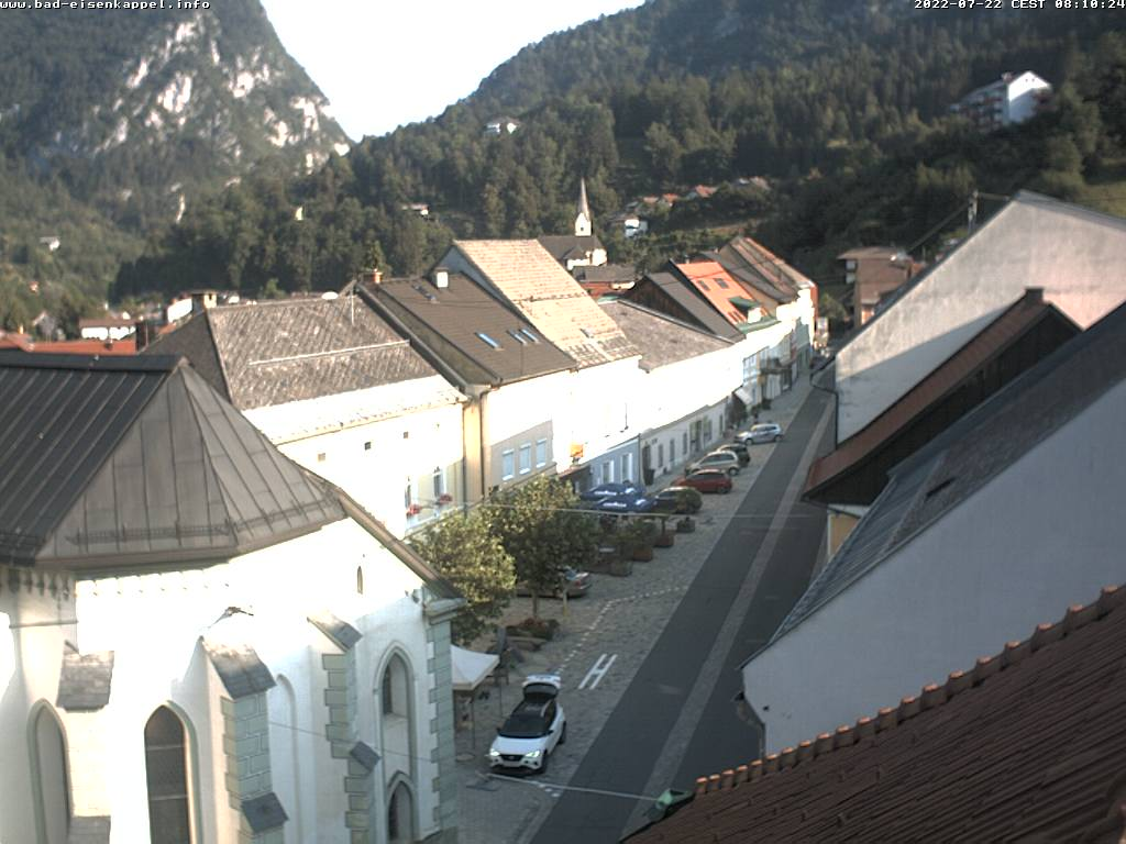Webcam-Livebild Bad Eisenkappel Hauptplatz