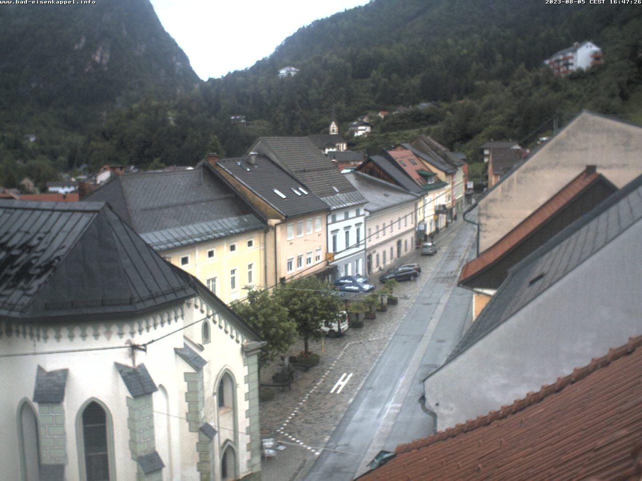 Webcam-Livebild Hauptplatz Eisenkappel, Aktualisierung alle 20 Sekunden
