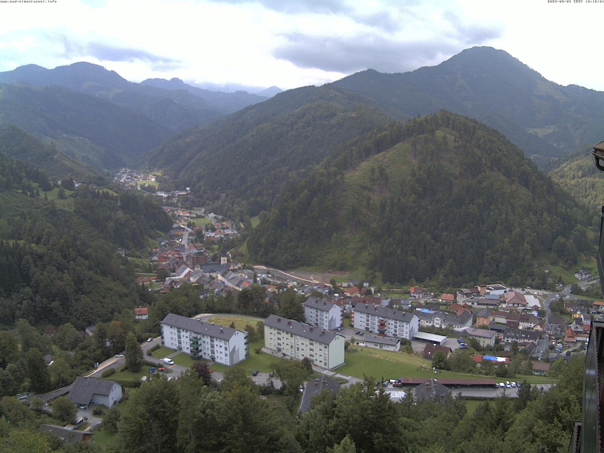 Webcam-Livebild Berghof Brunner, Aktualisierung alle 5 min